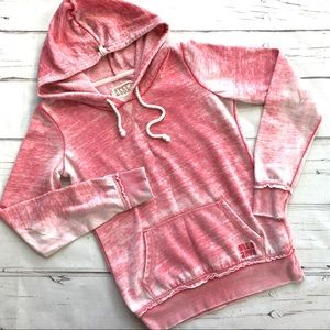 Billabong womens Sweatshirt Hoodie pockets C7
